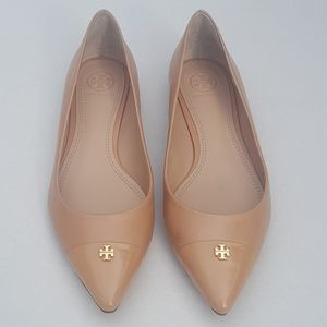 Tory Burch NEW Leather Fairford Pointed Toe Flats